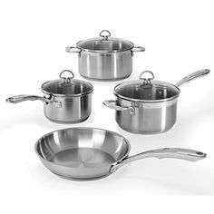 Chantal SLIN7 Induction 21 Steel 7Piece Cookware Set *** Check out this great product.  This link participates in Amazon Service LLC Associates Program, a program designed to let participant earn advertising fees by advertising and linking to Amazon.com.