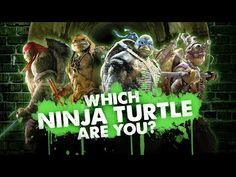 Which Ninja Turtle Are You? - Interactive TMNT Quiz (2014) - Movie HD