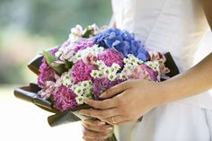 A bridal bouquet - i love images/Getty Images