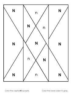Alphabet Recognition Worksheet For Preschool And Kindergarten