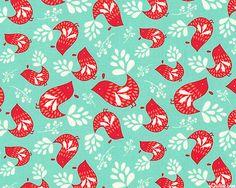 Folklore - Pretty Partridges - Aqua