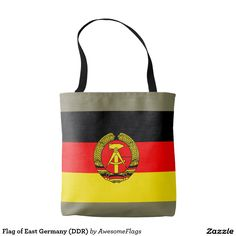 Flag of East Germany (DDR) Tote Bag