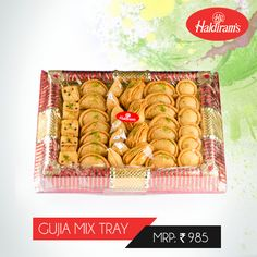 Enjoy the Delicious Taste of Haldirams Gujia with your family & friends this Holi. #OrderOnline