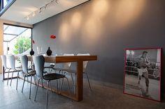 Open house - Rodrigo Esteves. Veja: http://casadevalentina.com.br/blog/detalhes/open-house--rodrigo-esteves-2879  #decor #decoracao #interior #design #casa #home #house #idea #ideia #detalhes #details #openhouse #style #estilo #casadevalentina #diningroom #saladejantar