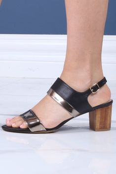Ankle Strap Stacked Wood Heel Sandals Model took her usual size Heel height: Fashion Shoes, Fashion Accessories, Wedge Boots, Pumps, Heels, Ankle Strap, Heeled Mules, Luxury Fashion, Women Wear