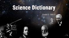 8. sınıf İngilizce Science ünitesinde ders kitabı, çalışma kitabı ve dinleme metinlerindeki tüm kelimeleri derlediğim sözlük çalışmamı bu bağlantıdan indirebilirsiniz.