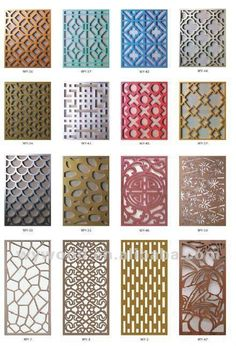 famous designer 's carved decorative panel, View carved decorative panel, WuyangYiguan Product Details from Guangzhou Wuyang Yiguan Woodwork. Diy Garden Fence, Backyard Fences, Fence Landscaping, Pool Fence, Decorative Fence Panels, Jaali Design, Metal Screen, Metal Fence, Stone Fence