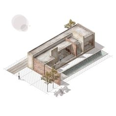 Marvelous Home Design Architectural Drawing Ideas. Spectacular Home Design Architectural Drawing Ideas. Layered Architecture, Architecture Collage, Architecture Graphics, Architecture Visualization, Architecture Drawings, Architecture Design, Structural Drawing, Urban Design Diagram, Architect Drawing