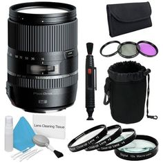 Tamron 16-300mm f/3.5-6.3 Di II VC PZD MACRO Lens for Canon + 67mm Macro Close Up Kit + 67mm 3 Piece Filter Kit + Deluxe Lens Pouch + Lens Pen Cleaner + Deluxe Cleaning Kit Brand Specials Bundle  http://www.lookatcamera.com/tamron-16-300mm-f3-5-6-3-di-ii-vc-pzd-macro-lens-for-canon-67mm-macro-close-up-kit-67mm-3-piece-filter-kit-deluxe-lens-pouch-lens-pen-cleaner-deluxe-cleaning-kit-brand-specials-bundle/