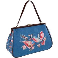I want this Cath Kidston bag that I saw in London last week! @Megan Ward Nealy doesn't it remind you of something you needed for your Sophia Petrillo Halloween costume in college? Haha!