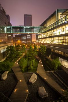 Project Name: Symantec Chengdu Campus Location: Chengdu, CHINA Area: 1 hectare Completion: January 2009 Landscape Architecture: SWA Photos: Tom Fox -The LA Team Modern Landscape Design, Landscape Architecture Design, Modern Landscaping, Contemporary Landscape, Urban Landscape, Garden Landscaping, Architecture Diagrams, Landscape Architects, Landscape Plans