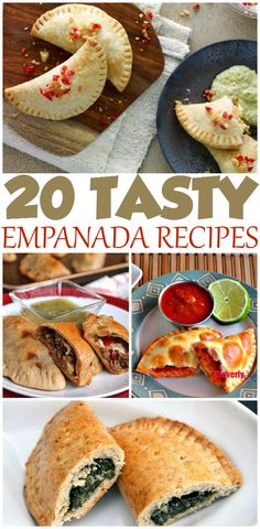 Looking for some delicious & fun Mexican recipes? Check out these 20 Tasty Empanada recipes here!