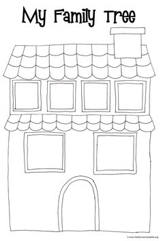 1228 best teaching kids esl images on pinterest baby learning fun family tree house for kids to color maxwellsz