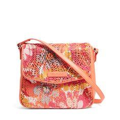 Summer Sparkle Crossbody in Pixie Blooms, $58 | Vera Bradley
