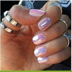 Solar effect nails