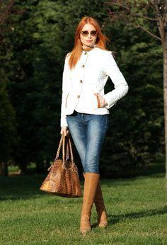 outfits con botas marrones moda otoño Botas Marrones a42488678bc1f