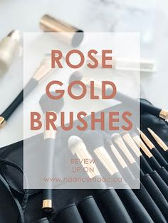 The prettiest rose gold makeup brushes! http://www.naancymaac.ca/2018/07/the-prettiest-rose-gold-makeup-brushes.html . . . . . #fancii #ariamakeupbrushcollection #makeup #brushes #makeuptools #makeupbrushes #rosegold #marble #flatlay #beautytools #beauty #bbloggersCA #beautybloggers #torontoblogger #mua #makeupartist #ontheblog #review