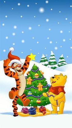 Pooh Bear and Tigger Christmas