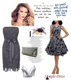 """""""simple-dress 26"""" by denisao ❤ liked on Polyvore featuring Dolce&Gabbana"""