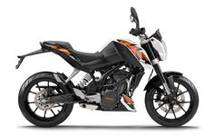 Best bikes for commuting: KTM 200 Duke