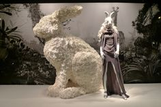 Alice In Wonderland at Printemps visual merchandising