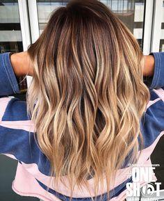 15 Best Ash Blonde Hair Colors of 2019 - Ombre, Highlights & Balayage - Style My Hairs Ombre Hair Color, Hair Color Balayage, Hair Highlights, Dark Balayage, Short Balayage, Balayage Hair Honey, Honey Hair, Silver Blonde Hair, Hair Looks