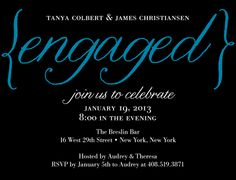 Elegantly Engaged:Luxe Turquoise