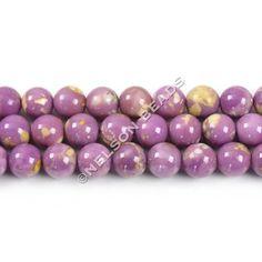Phosphosiderite 6mm Round Beads (Unique) - Grade A