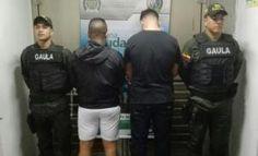 Denuncia ciudadana permitio las capturas de tres extorsionistas