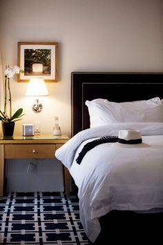 room decor sleep - stylishly garden court hotel  palo alto - Stylishlyme.com