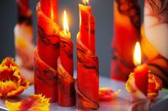 Einzigartige Kerzen sind ein attraktives Geschenk zu jedem Anlass. An Ostern, Weihnachten, Geburtstag oder als Gastgeschenk sind unsere Rulo Kerzen ein ausgefallenes Präsent in attraktivem Design. Kerzen zaubern eine beruhigende Stimmung: der perfekte Ausgleich nach einem stressigen Tag. Beautiful Candles, Design, Wax, Unique Candles, Guest Gifts, Mood, Easter Activities, Birthday, Christmas