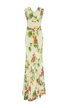 Alicia Silk Maxi Dress by ISOLDA Now Available on Moda Operandi