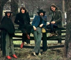 Pink Floyd. I love Roger and Rick's red shoes!