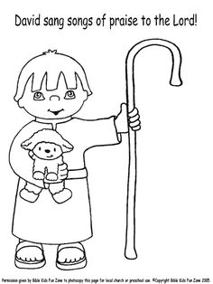 This is a graphic of Slobbery David The Shepherd Coloring Page