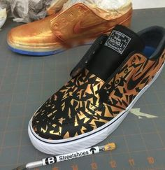 "Everyday I get asked ""what kind of paint do you use? Does it last forever? What do you need to do to prep the shoe for paint? How do you seal it?"" I wanted to w"