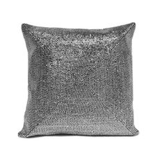 Metallic Stud Pillow - Silver - Pillows - Bed