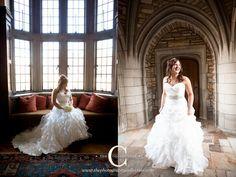 Bridal Portait for Scarritt Bennett Wightman Chapel Wedding Nashville, TN.