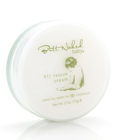 Baby's skin is five times thinner than that of adults at the time of birth. That's why Butt Naked Baby is dedicated to providing toxin-free, fragrance-free, natural and organic skin care for infants, toddlers and anyone with sensitive skin. Enriched with their signature blend of white tea, green tea and calendula, this intensive cream is perfect for daily use on severely dry and problematic skin.