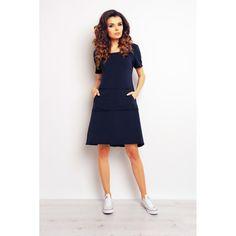 Sport Casual, High Neck Dress, Dresses For Work, Products, Fashion, Dress Work, Dirndl, Turtleneck Dress, Moda