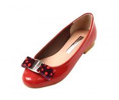 Red Sudda Ballet Flats from Le Bunny Bleu.