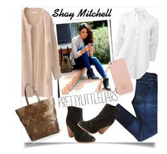 """""""Shay Mitchell/Pretty Little Liars"""" by clotheshawg ❤ liked on Polyvore featuring rag & bone, Tory Burch, DKNY, women's clothing, women's fashion, women, female, woman, misses and juniors"""