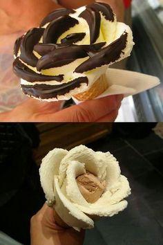 Ice cream flower!