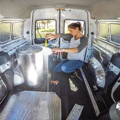 It's so hard to believe that this was 3.5 months ago! I did a ton of research before I started converting my van, but I had no relevant experience at all. My advice to anyone starting out on a #vanlife idea: TAKE YOUR TIME! Research, plan, research more. Gather ideas wherever you can, but don't be afraid to come up with your own. You'll learn a lot along the way - trust yourself and your gut feelings. Seeing the van go from an empty shell to a cozy, functional home on wheels has been such…