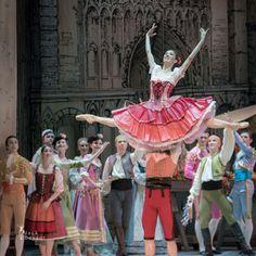 Alla Bocharova and Andrey Sorokin in Don Quixote act 1 3