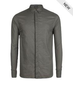 AllSaints Parisi Long Sleeved Shirt   Mens Shirts