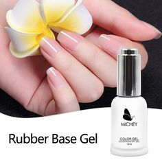 Healthy UV Primer Soak Off Long-lasting Rubber Base Thicker Gel For Nail Art Gel Lacquer 12ml MICHEY   Price: 3.11 USD