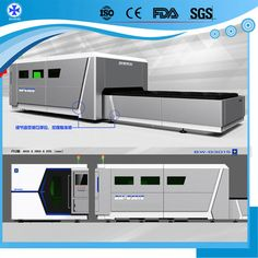 Baiwei laser BW-G3015 fiber laser cutting machine with exchange platform for metal plate