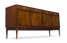 Rosewood Credenza,Dresser or Media console- Greaves & Thomas. Mid Century Modern #GreavesandThomas #Modern