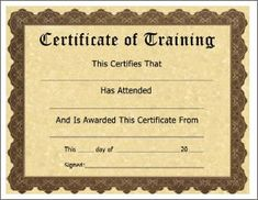 Certificate of training template free free training certificate training certificate template helps you to create a final design easier and faster the contents are always easy to edit so they can be adjusted to your yelopaper Gallery