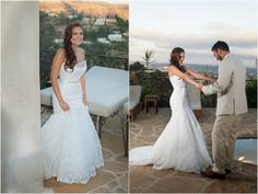 Articulo de boda revista terra first look.